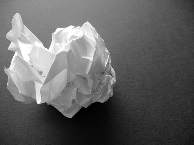 Crumpled Paper and Student Bias