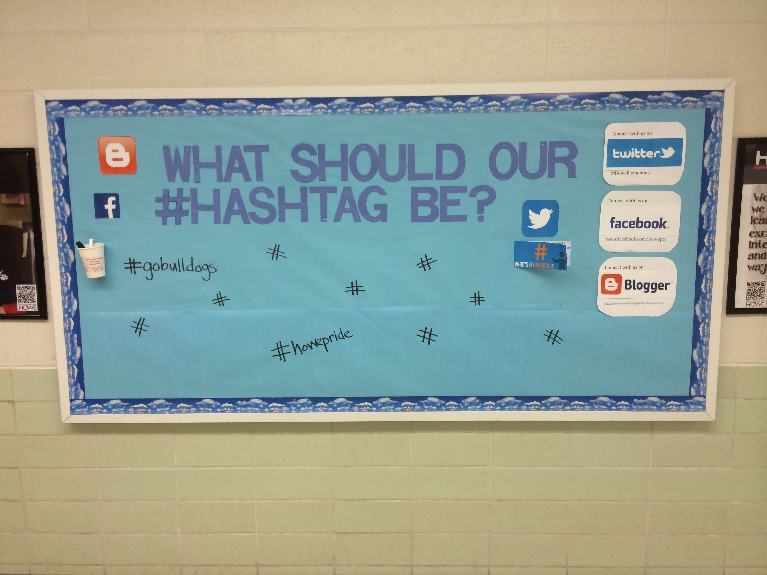 Interactive bulletin boards to connect home school and for Office design hashtags