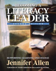 Becoming a Literacy Leader cover image