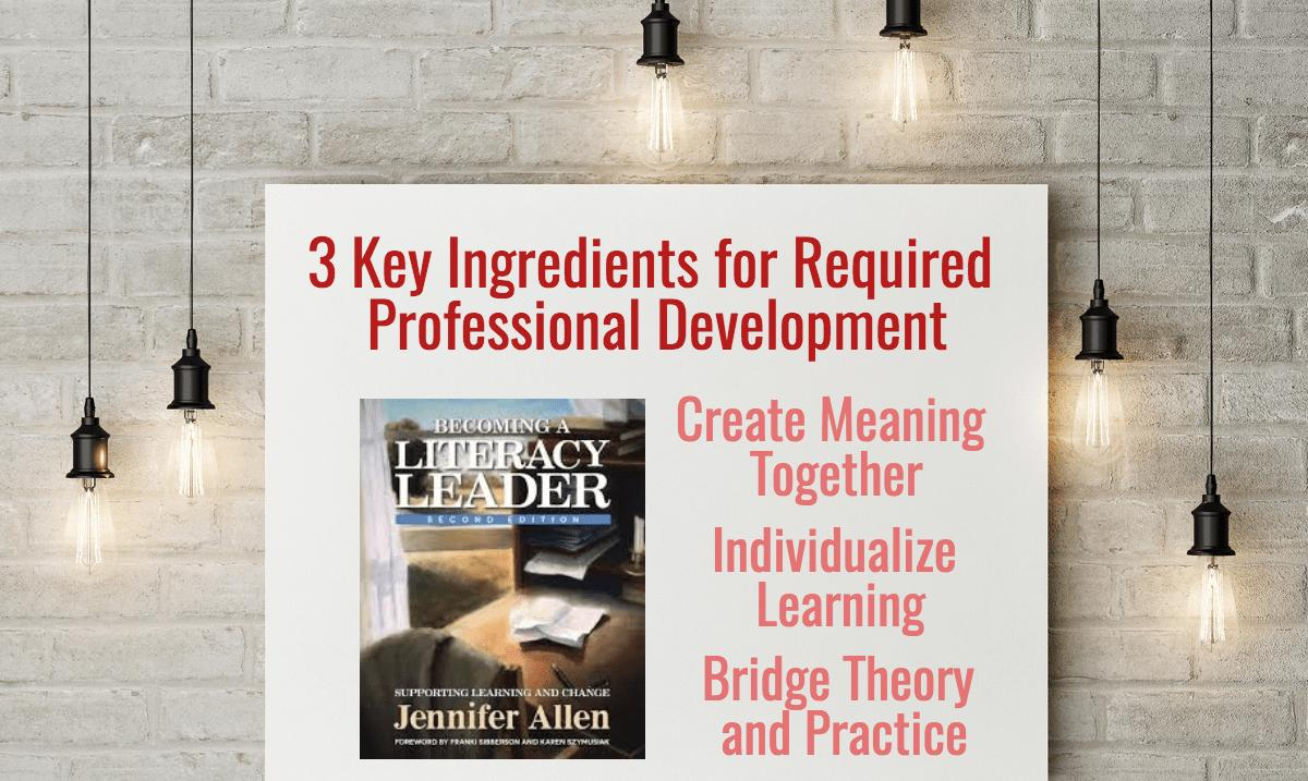 When professional learning isn't yourchoice…